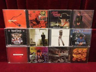 12 Music CDs