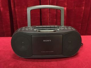Sony AM FM CD Cassette Player   Tested