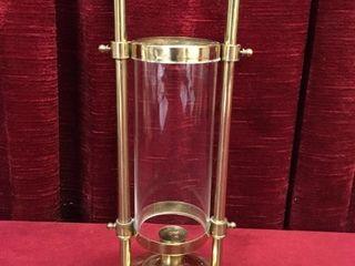 Vintage 11  Brass Church Candle Holder
