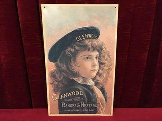 Glenwood Ranges   Heaters Tin Sign