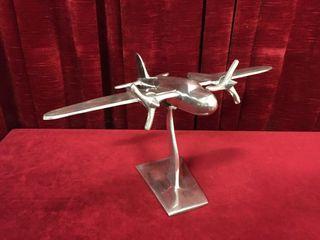 Cast Aluminum Plane Model 17 wide