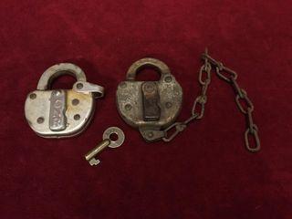 CNR   NYCS locks   1 Key works Both