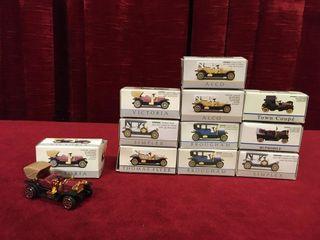 11 Mini Diecast Vehicles
