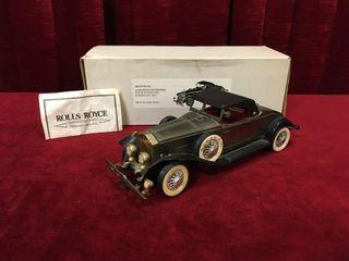 1931 Rolls Royce 10  AM Transistor Radio   Working