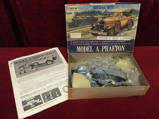 1950s Hubley Metal Kit Model A Phaeton   Note