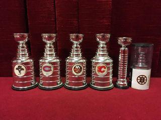 6 Stanley Cup Replicas