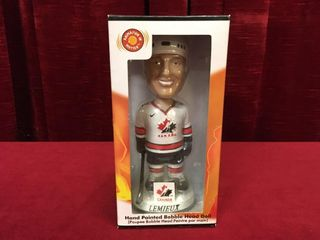 2001 Mario lemieux Team Canada Bobble Head
