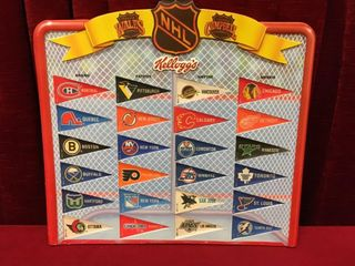 1992 Kellogg s NHl Team Pennants Collection