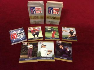 2 1990 PGA Special Inaugural 100 Card Set