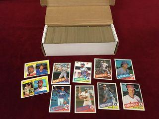 570  Various 1985 Baseball Cards