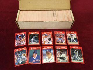 800 1990 Donruss Baseball Cards   Commons