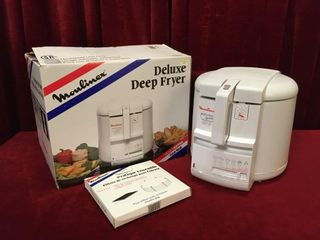 Moulinex 2 5l Deep Fryer w  Micro Filter   Tested