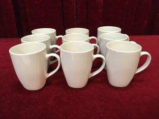 9 Gryphon Ware Mugs   New
