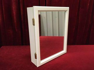 Mirrored Medicine Cabinet   16  x 4 5  x 20