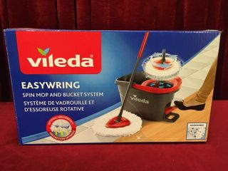 Vileda Easy Wring Spin Mop   Bucket System