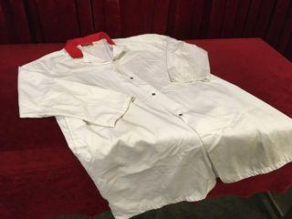 Professional Butcher s Shop Coat 3Xl