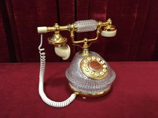 Novelty Touch Tone Desk Telephone   Working