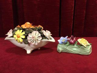 Radnor   Staffordshire Bone China Bouquets   Note