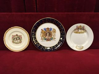 3 Royalty Plates 1939 to 1953