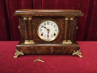 Arthur Pequegnat Stratford Mantle Clock   Working