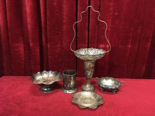 5 Vintage EP Silver Items