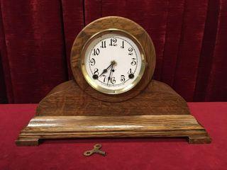 Arthur Pequegnat Sherbrooke Mantle Clock   Note