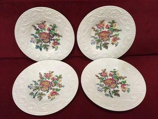 4 Wedgwood England 9  Plates