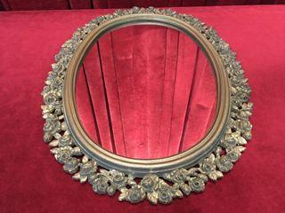 Vintage Framed Mirror   19  x 25
