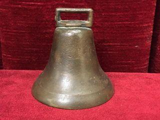 Antique Store Door Brass Bell