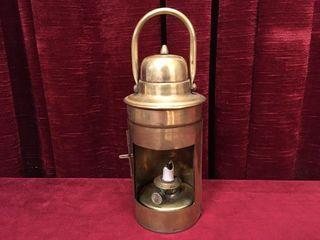 Antique G  Polkey Burmingham Oil Marker   lantern