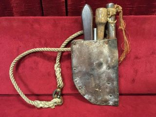 Antique Sailor s Rope   Knot Repair Kit