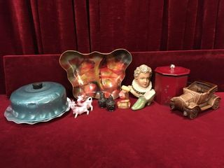 Vintage Dish  Shakers  Planter   More