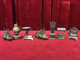 7 Miniatures Pencil Sharpeners   Very Dusty