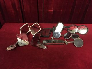 13 Old Car   Truck Mirrors   3 Pairs
