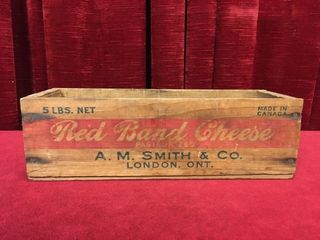 Red Band Cheese london Ont 5 lb Cheese Box