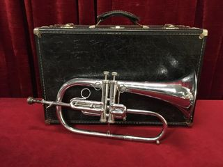 Dynasty USA 2 Valve Bugle Flugelhorn w  Case