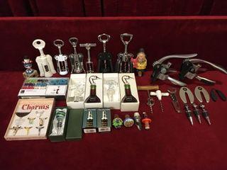Various Wine Bottle Accessories