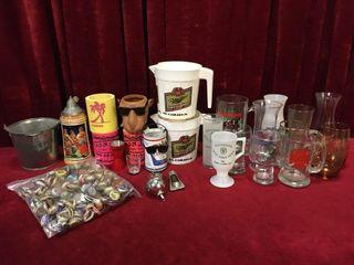 Bar Items  Glasses  Mugs  Beer Caps   More
