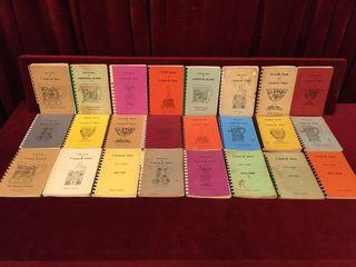 24 Carnival Glass Books 60s   80s