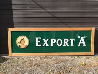 Export A Store Front Advertising Sign   Note