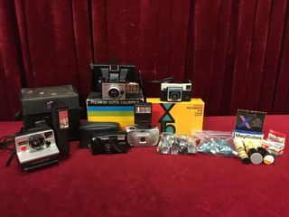Vintage Cameras  Flash Bulbs   Film