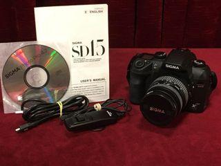 Sigma SD15 Digital Camera   Tamron 85mm lens