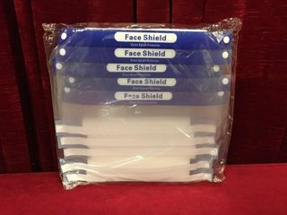 10 Direct Splash Protection Face Shields   New