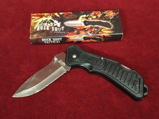 Frost Buck Shot Tactical Pocket Knife   New