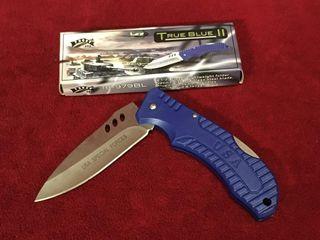 Frost True Blue II Pocket Knife   New