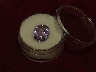 Oval Cut Amethyst Gemstone