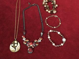 ladies Designer Necklaces   Bracelets