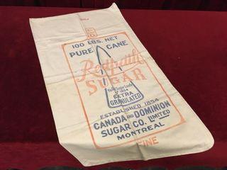 Redpath Sugar Jute Bag   18  x 34