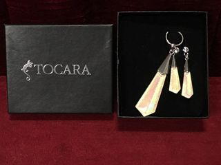 Tocara Necklace   Pierced Earring Set