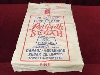 Redpath Sugar Jute Bag   Unsweetened   19 5  x 35